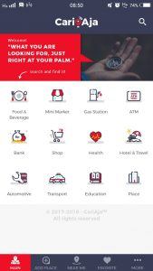 aplikasi pencarian tempat cari aja | Seputarkota.com