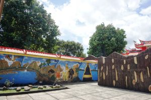 Patung Buddha Tidur di Bogor, Relief alur cerita Buddha