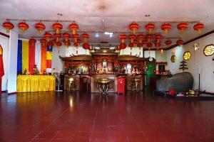 Kelenteng Pan Kho Bio, Altar Kelenteng Pan Kho Bio
