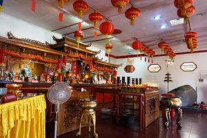Kelenteng Pan Kho Bio, Altar dewa dewi di Kelenteng Pan Kho Bio