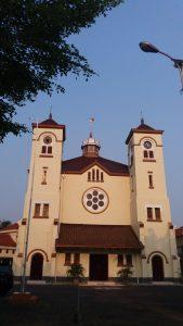 wisata religi di Jakarta, Gereja Ayam Pasar Baru