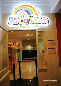 Lala Town Playground di Rabbit Town Bandung