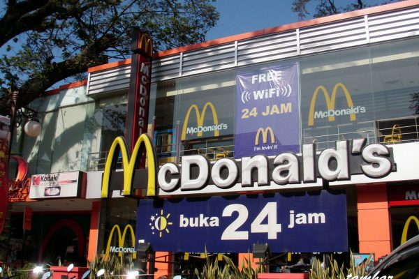 fast food 24 jam di Medan, McDonald's Merdeka Walk
