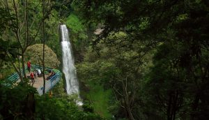 Curug Pelangi, tempat wisata romantis di Bandung