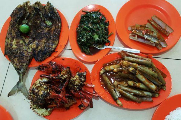 Seafood Wiro Sableng 212, tempat makan seafood murah di Jakarta