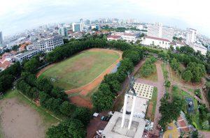 Taman Lapangan Banteng, taman kota di Jakarta - Seputarkota.com