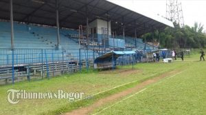 trek jogging di Bogor, GOR Pajadjaran