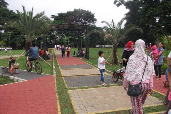 trek jogging di Bogor, Taman Heulang