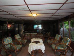 Lobby Carolina Hotel, hotel murah sekitar Danau Toba