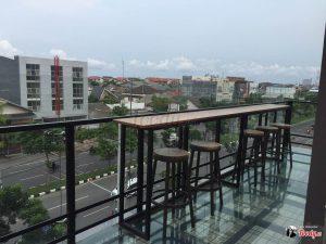 Koffie & Roofbar, rooftop cafe Surabaya