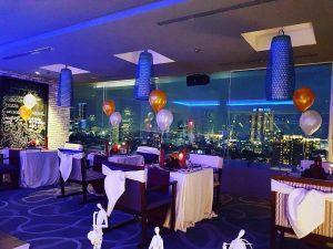 Seventeen Skyview Resto dan Lounge, rooftop cafe Surabaya