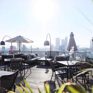 Sky 36, rooftop cafe Surabaya