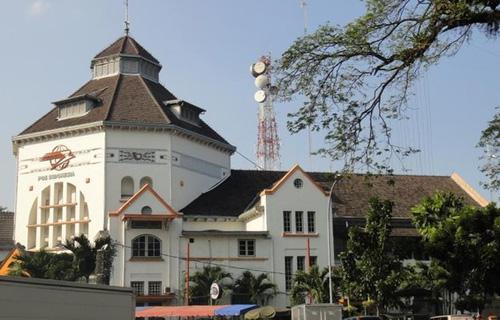 gedung kota tua Medan, Gedung Kantor Pos dan Giro