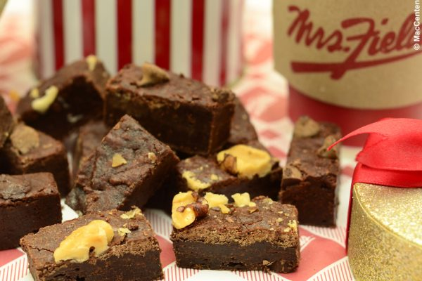 Mrs. Fields, brownies panggang enak di Jakarta