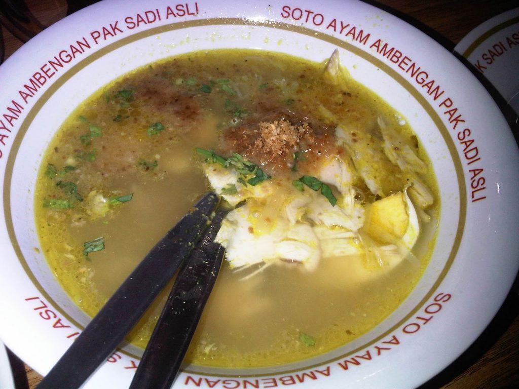 Soto Ayam Ambengan Pak Sadi, soto paling enak di Jakarta Pusat, Seputar Kota