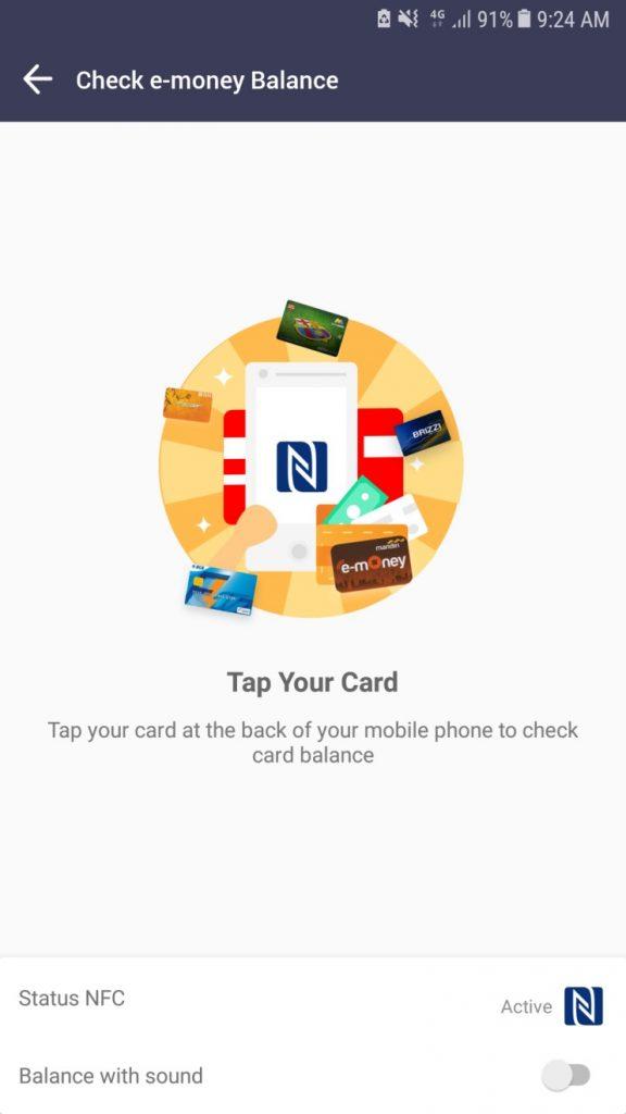 Cek saldo e-money di Cari Aja, Begini Caranya.