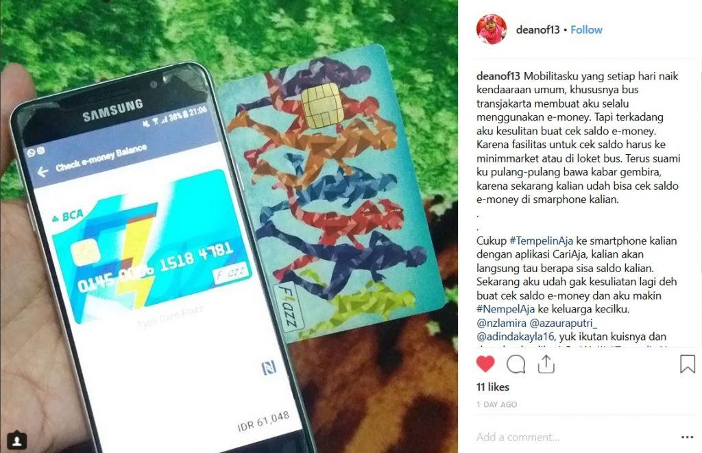pemenang smartphone gratis dari cariaja