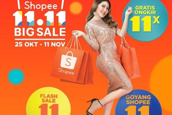 Promo 11 11 Shopee, Goyang Shopee