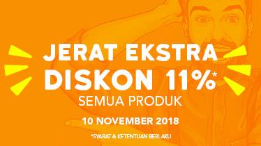 promo 11 11 Blibli, Jerat Ekstra Diskon 11%, Seputar Kota