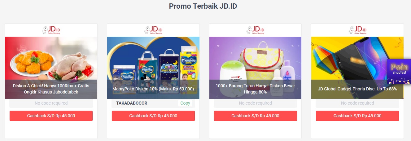promo 11 11 ShopBack, Promo Terbaik JD.ID, Seputar Kota
