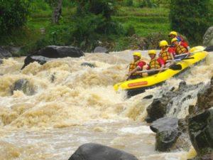 tempat main arung jeram di Bogor, Arung Jeram Rafting Outbound Alamanda, Seputarkota.com