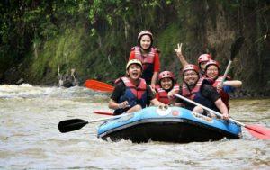 tempat main arung jeram di Bogor, Wisata Rafting Cianten, Seputarkota.com
