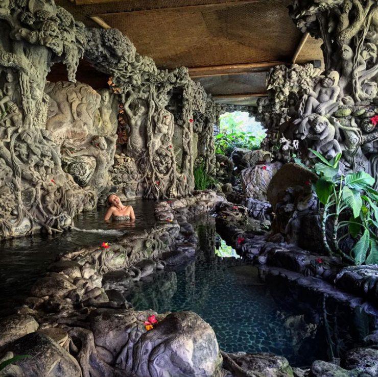 tempat spa di Bali, Tjampuhan Spa, Seputar Kota