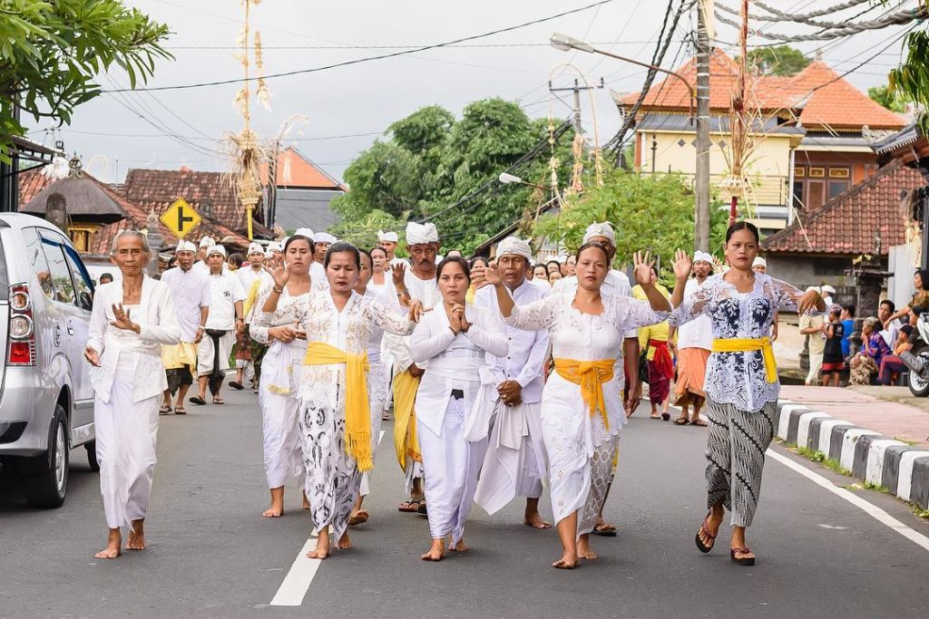 tradisi perayaan Nyepi, Upacara Meprani, Bali, Seputar Kota