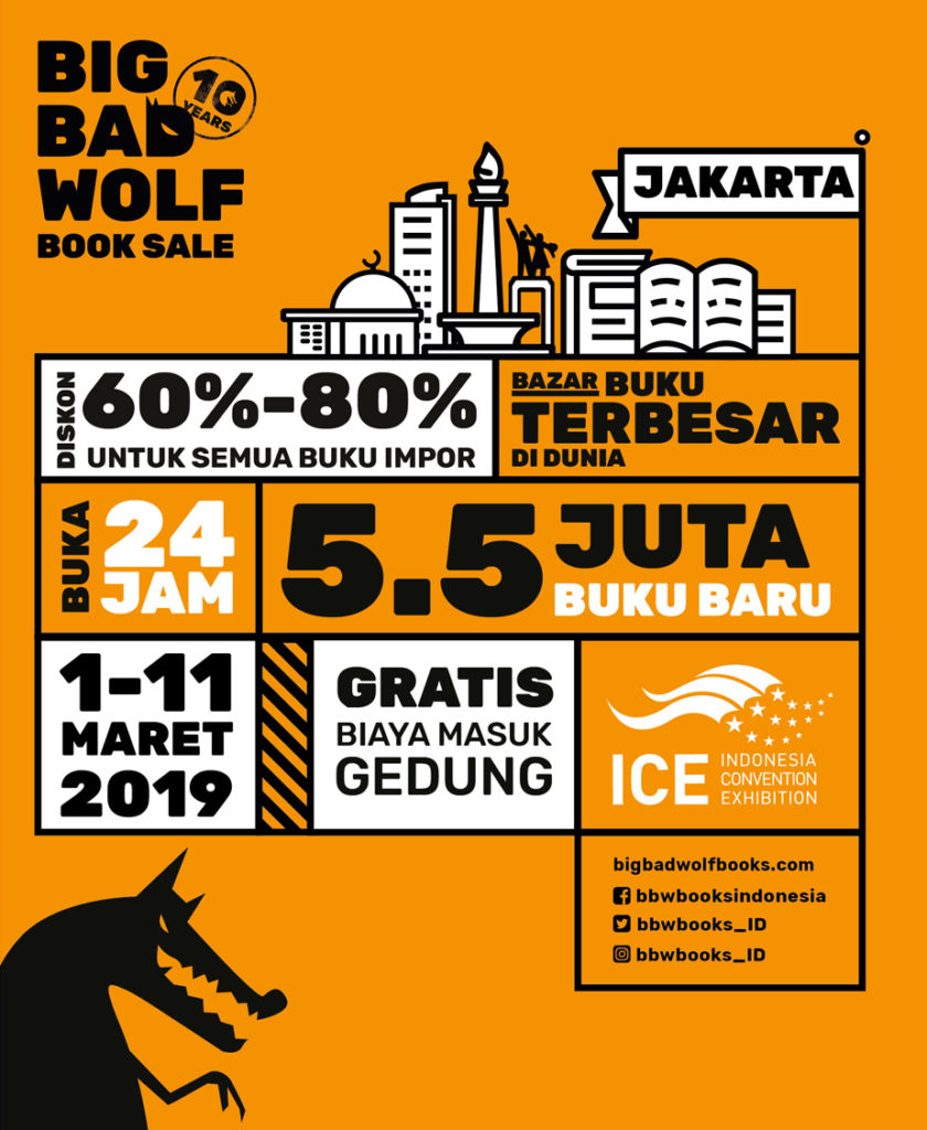 Big Bad Wolf Books, Big Bad Wolf Books 2019, Big Bad Wolf Jakarta 2019, Seputar Kota