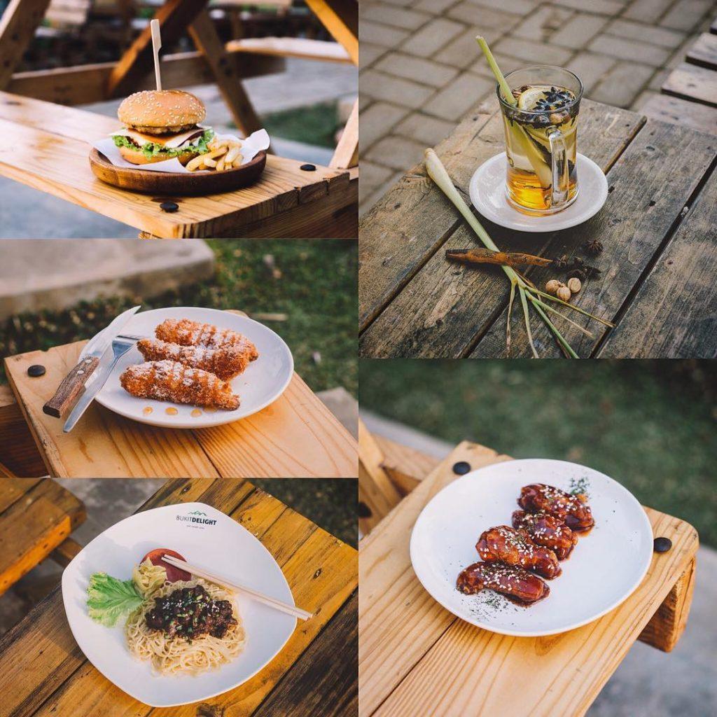 restoran romantis di Malang, Cafe Bukit Delight, Seputar Kota