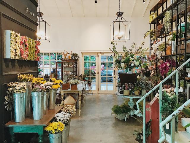 toko bunga di Indonesia, Onni House, Seputar Kota