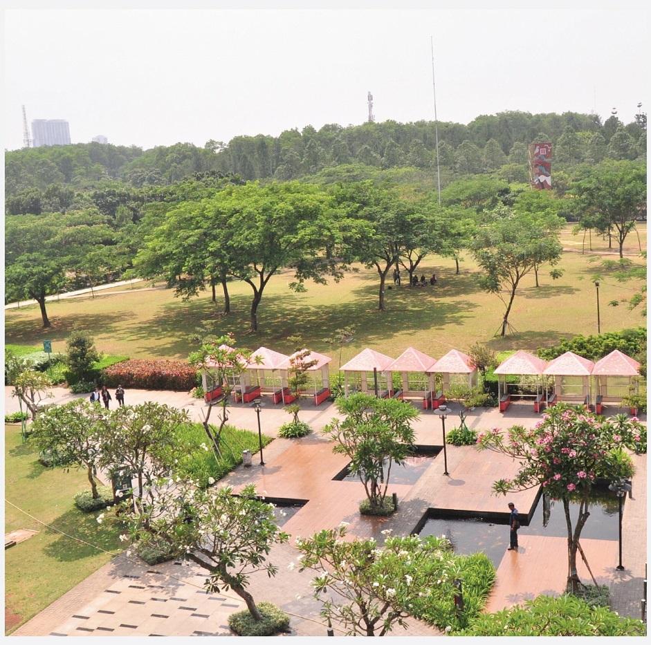 taman kota di Tangerang, Taman Bintaro Xchange, Seputar Kota