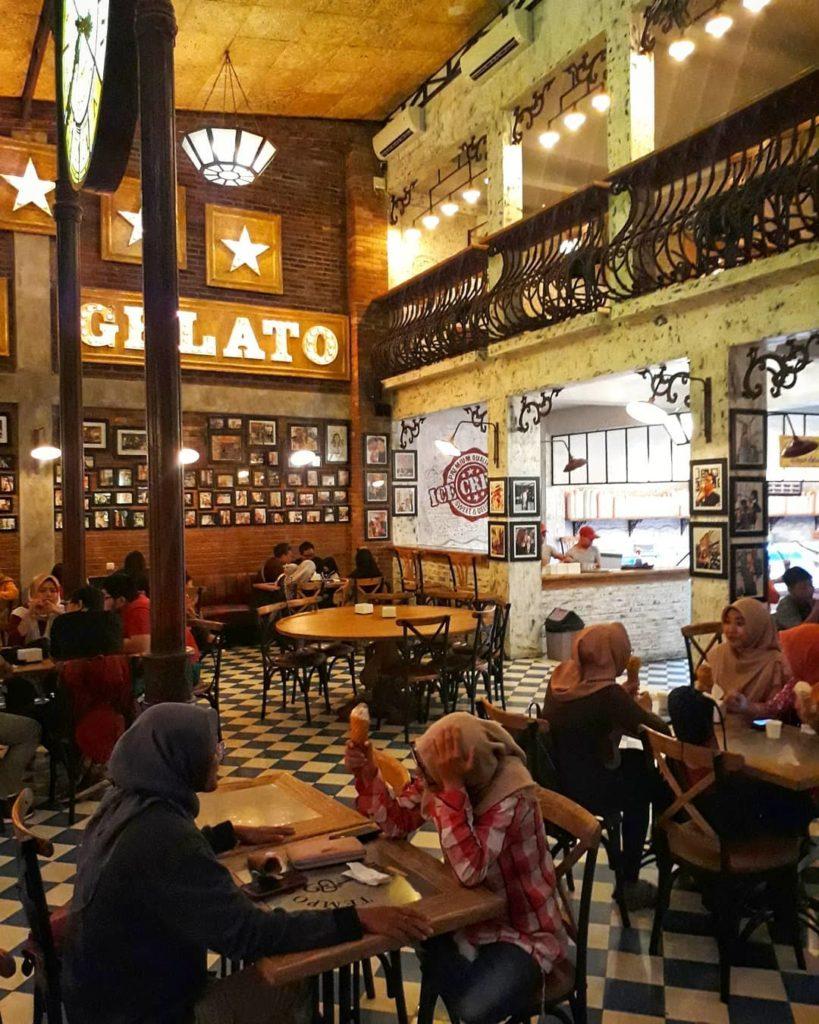 cafe unik di Jogja, Tempo Gelato, Seputar Kota