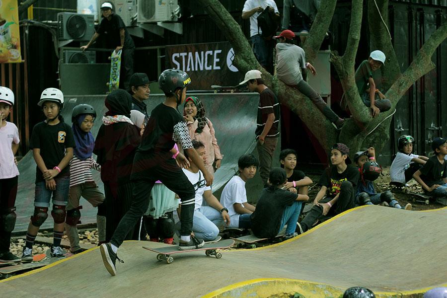 skatepark di Jakarta, Eleven Trees, Seputar Kota