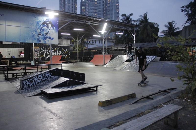 skatepark di Jakarta, Twilo Skatepark, Seputar Kota