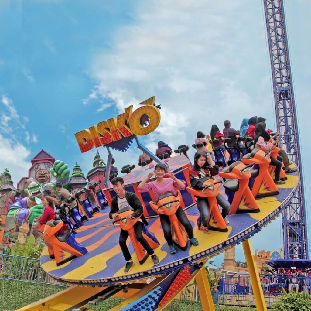 8 Wahana Seru Saloka Theme Park Semarang, Terbesar di Jawa Tengah!