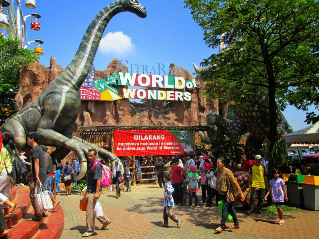 tempat wisata di Tangerang, Citra Raya Water World & World of Wonders, seputarkota.com