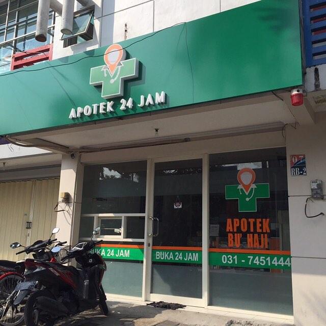 apotek 24 jam di Surabaya, Apotek Bu Haji, seputarkota.com