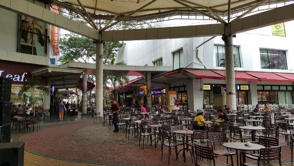 Tempat nongkrong di Tangerang, Downtown Walk Summarecon Mall Serpong, seputarkota.com