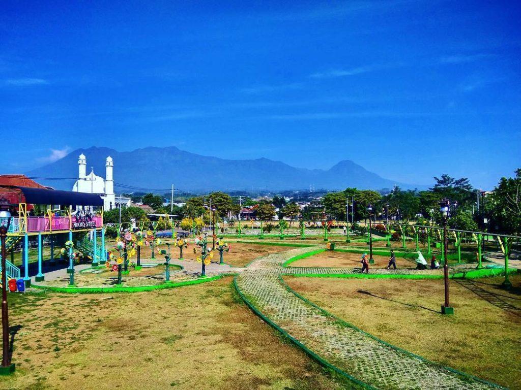 taman kota di Malang, Taman Singha Merjosari, seputarkota.com